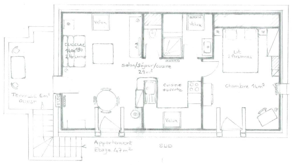 [Rêve de Goélan] Plan de l'Etage